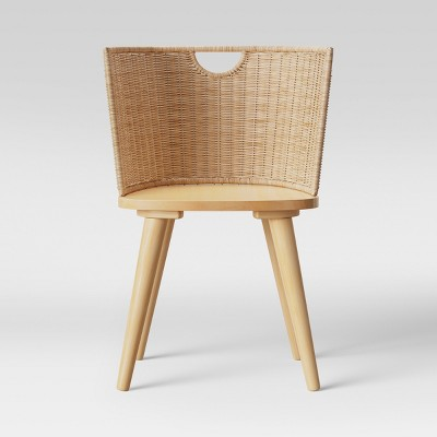 Wood And Woven Chair   Project 62™ by Shop This Collection