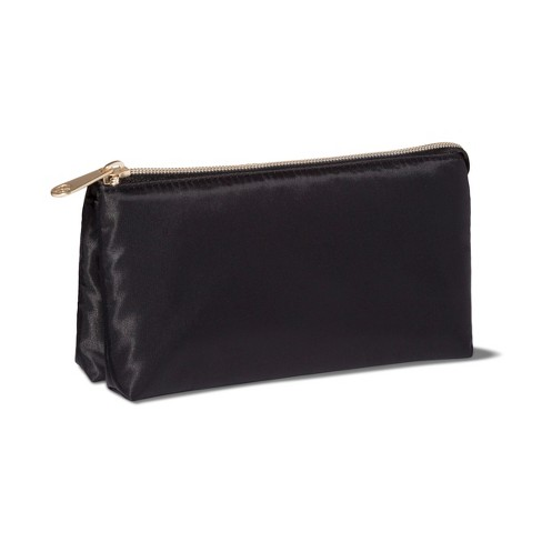 Sonia Kashuk™ 3pc Compartment Compact Makeup Bag- Black - image 1 of 3