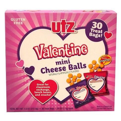 Utz Valentine's Exchange Cheese Balls - 7.5oz - image 1 of 3