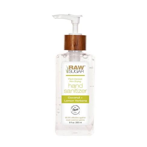 Raw Sugar Coconut + Lemon Verbena Hand Sanitizer - 9 oz - image 1 of 1