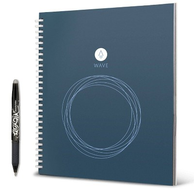 Rocketbook Wave Smart Notebook Spiral 1 Subject Blue