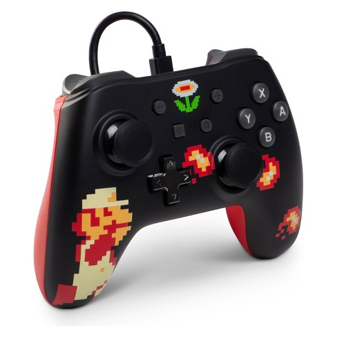 PowerA Wired Controller for Nintendo Switch - Retro 8-Bit Super Mario
