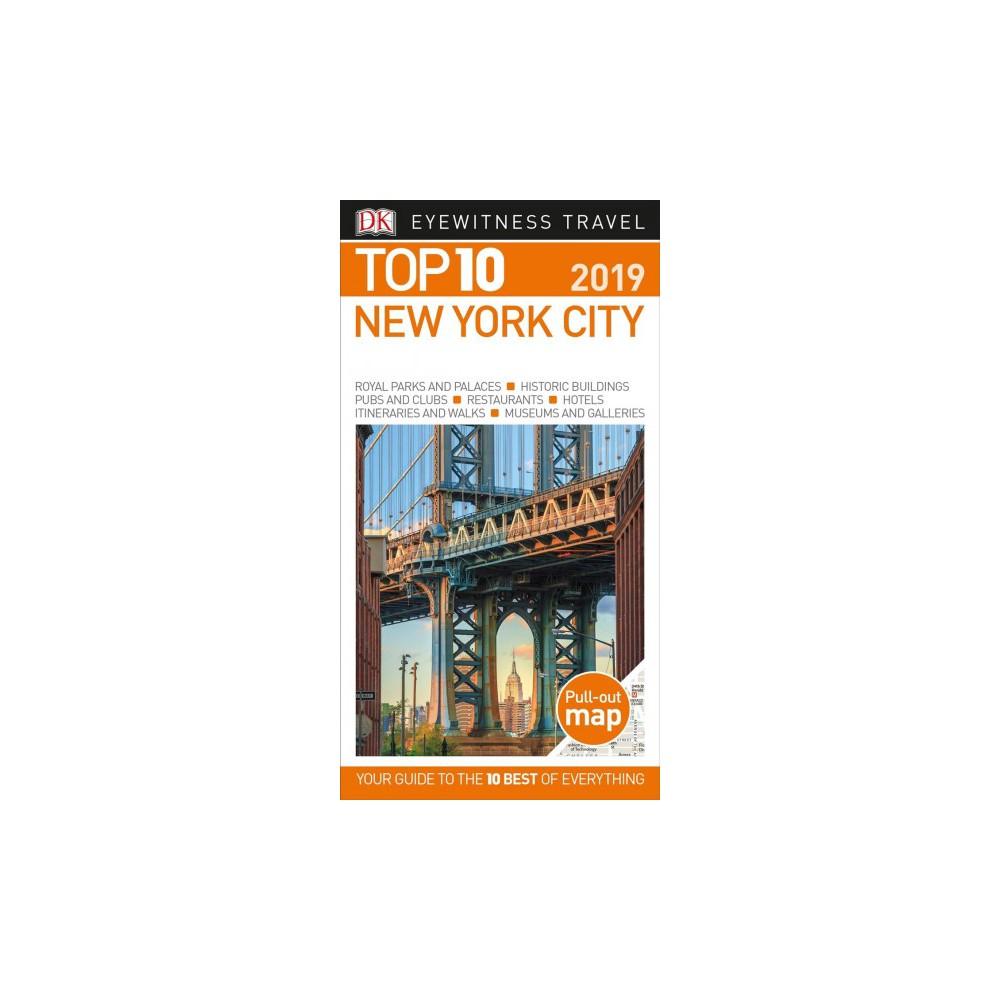 Dk Eyewitness Top 10 New York City - Pap/Map RE by Eleanor Berman (Paperback)