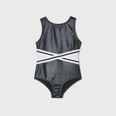 Toddler Girls' Gymnastics Leotard - More Than Magic™ Black