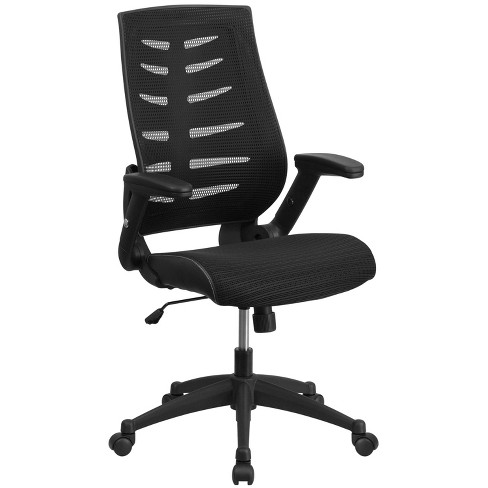 Executive Swivel Office Chair Black - Flash Furniture - image 1 of 4