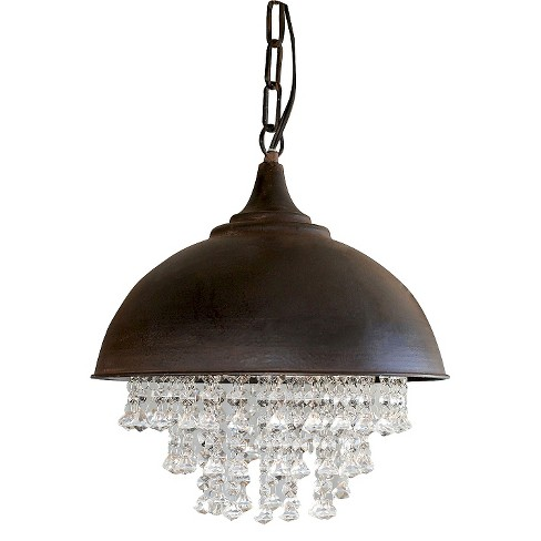 Wire Hanging Pendant Lamp - Black - image 1 of 2
