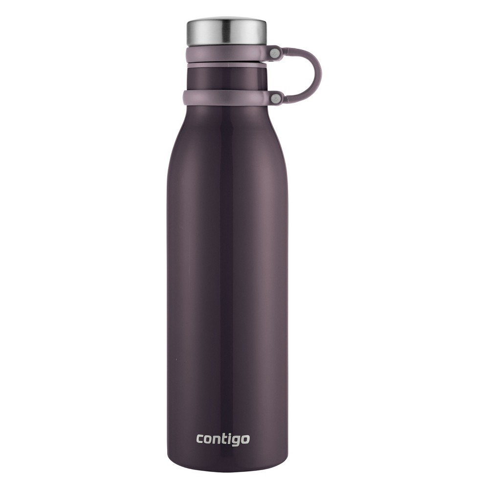 Image of Contigo 20oz Matterhorn Thermalock Vacuum-Insulated Stainless Steel Water Bottle Merlot, Red