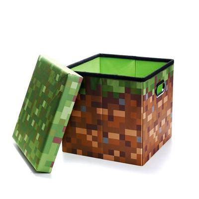 Minecraft Grass Storage Bin Target