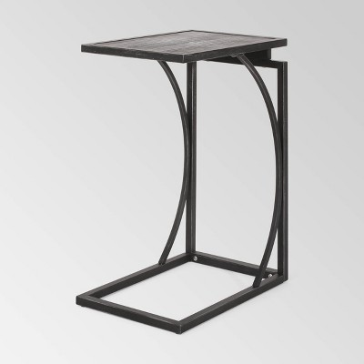 Barrybrooke Modern Industrial Accent Table Antique - Christopher Knight Home