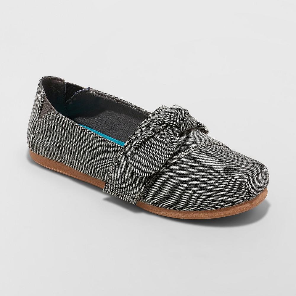 Girls' Mad Love Mittie Slip On Sneakers - Black 5