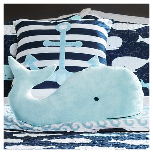 Whale Quilted Bedding Set 5pc Lush Dcor Target