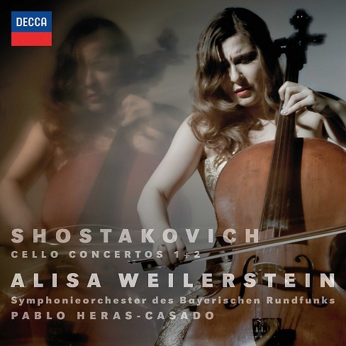 Alisa Weilerstein - Shostakovich:Cello Concertos Nos 1 & (CD) - image 1 of 1