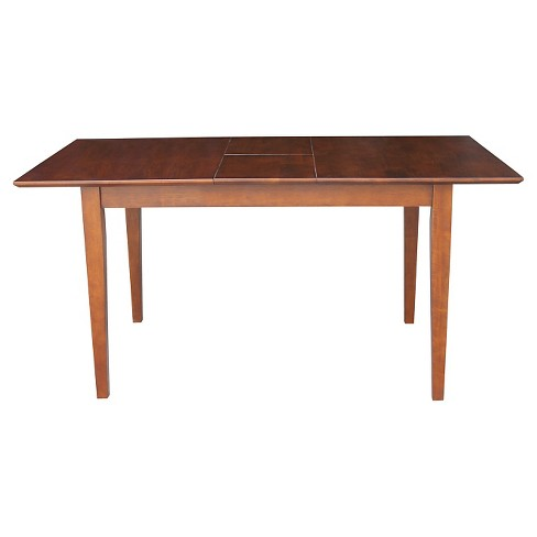 Shaker Style Extension 32 X48 Dining Table International Concepts Target