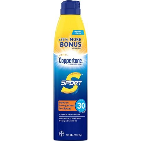 Coppertone Sport Sunscreen Spray - SPF 30 - 5.5oz - image 1 of 4