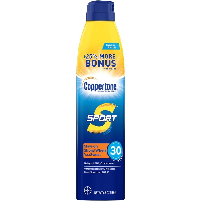 Coppertone Sport Sunscreen Spray - SPF 30 - image 1 of 4