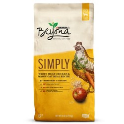 Purina Beyond White Meat Chicken & Whole Oat Meal Recipe Dry Cat Food - 6lbs