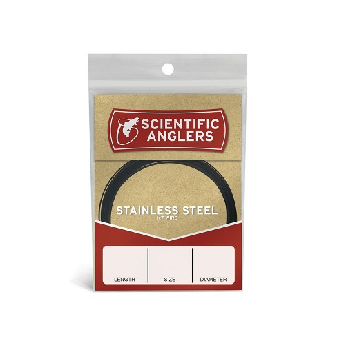 Scientific Anglers Stainless Steel Easy-Knot Wire Fly Fishing Leaders - image 1 of 1