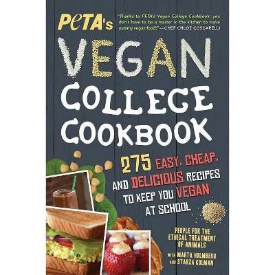 Peta's Vegan College Cookbook - 2nd Edition (Paperback)
