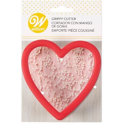 Wilton Heart Grippy Cookie Cutter - Red