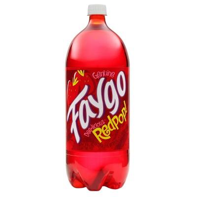 Faygo Red Pop Soda - 2L Bottle