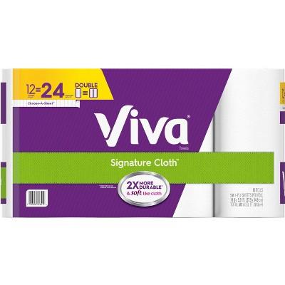 Viva Signature Paper Towels - 12pk