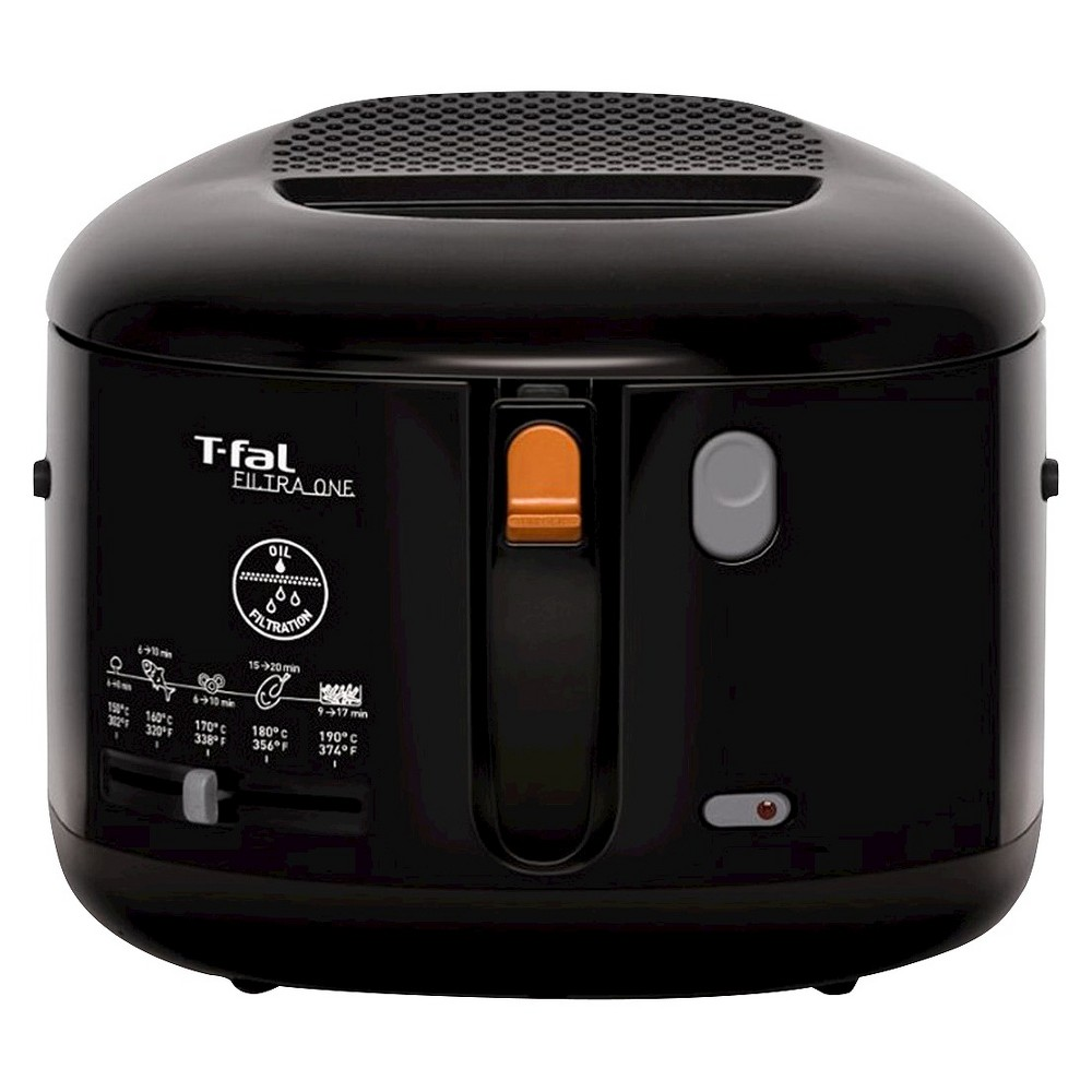 T-fal Filtra One FF162850 2.2qt Deep Fryer Stainless Steel Black 15812290