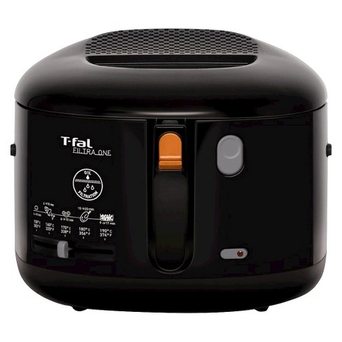 T-fal Filtra One FF162850 2.2qt Deep Fryer Stainless Steel Black - image 1 of 1
