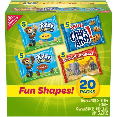 Nabisco Fun Shapes Cookies & Crackers Mix - 20oz - image 1 of 4