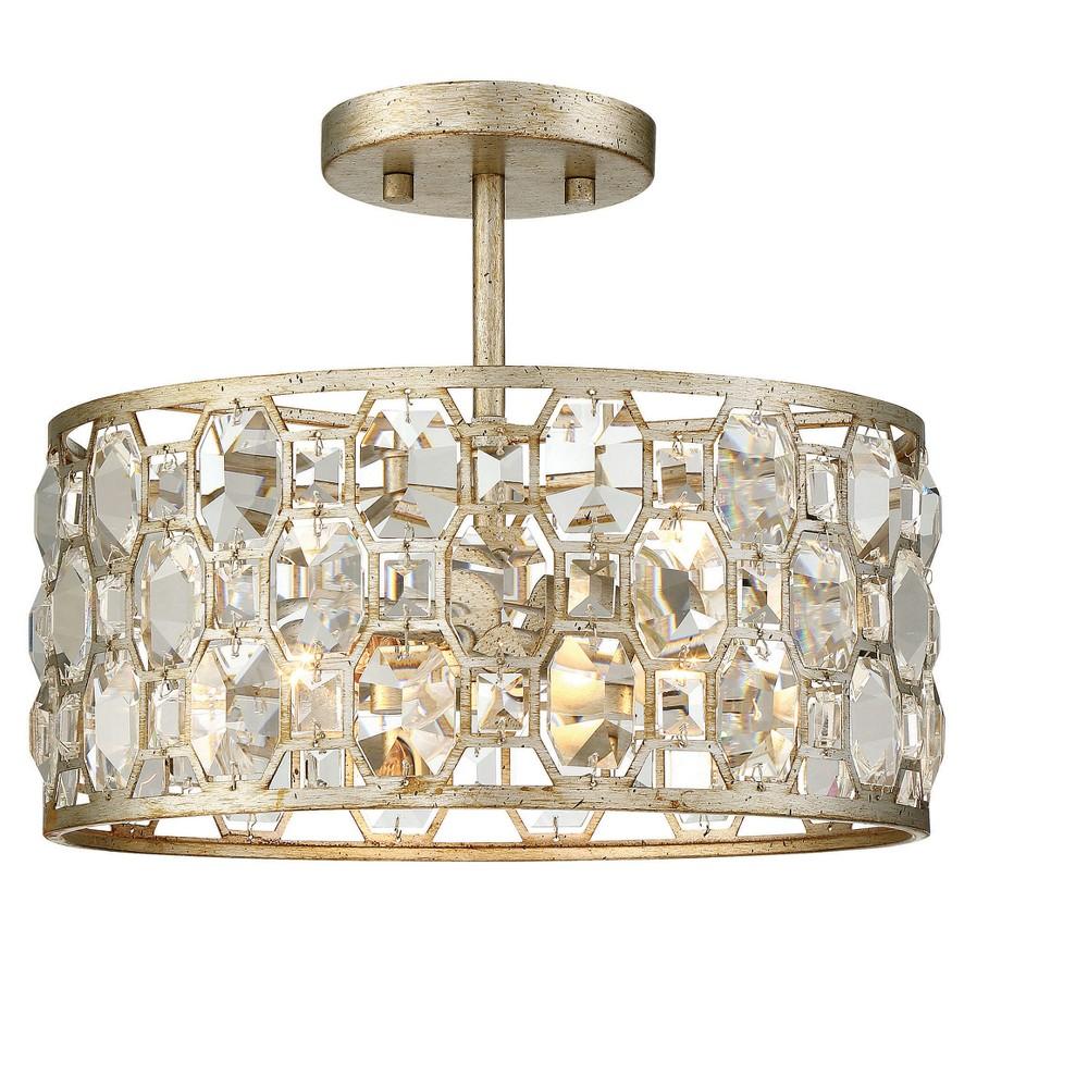 Ceiling Lights Flush Mount Silver Gold - Aurora Lighting