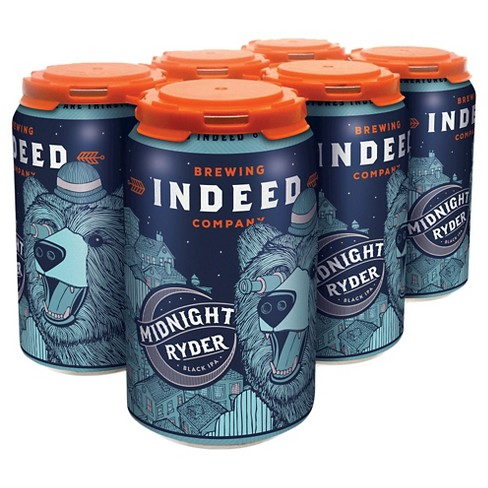 Indeed® Midnight Ryder Black IPA - 6pk / 12oz Cans - image 1 of 1