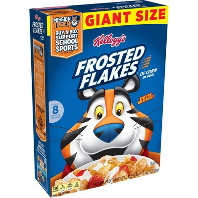 Frosted Flakes Giant Cereal - 33.5oz