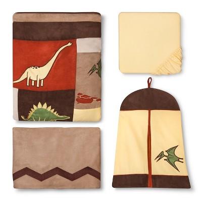 Sweet Jojo Designs Crib Bedding Set - Dinosaur Land - 11pc