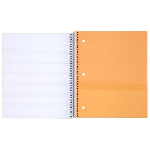 Spiral Notebook 5 Subject College Ruled - Five Star