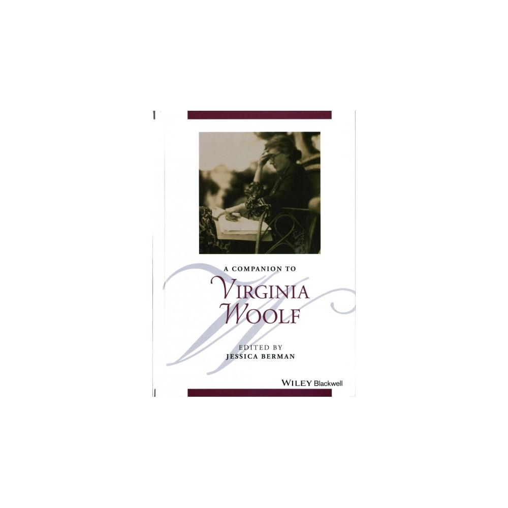 Companion to Virginia Woolf - (Hardcover)