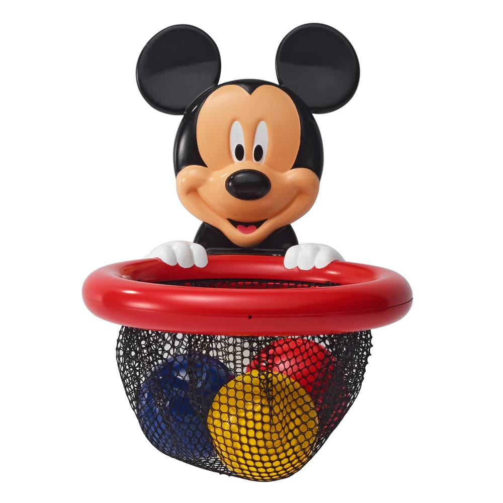 Image of Bath Toy Storage Disney Black