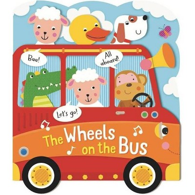 Wheels on the Bus - (Heads, Tails & Noses) (Board Book)