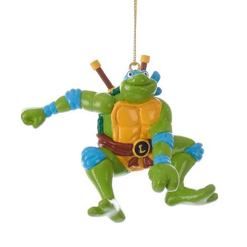 Ninja Turtle Christmas Tree.Leonardo Teenage Mutant Ninja Turtles Christmas Tree Ornament