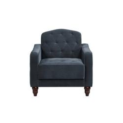 Vintage Tufted Armchair Blue - Novogratz
