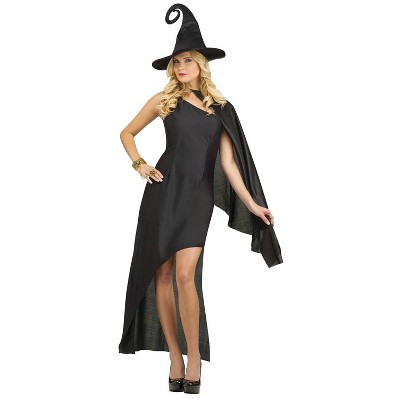 Adult Enchanting Witch Halloween Costume Black