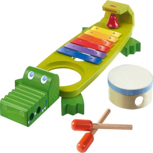 HABA Symphony Croc Music Band Set with 4 Instruments for Ages 2 and Up - image 1 of 2