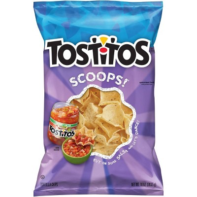 Tostitos Scoops! Tortilla Chips- 10oz