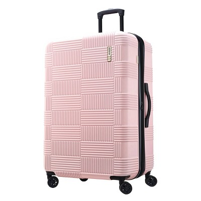 "American Tourister 28"" Checkered Hardside Spinner Suitcase"