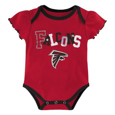 super popular d6125 c7682 NFL Atlanta Falcons Baby Girls' Newest Fan 3pk Bodysuit Set - 3-6M