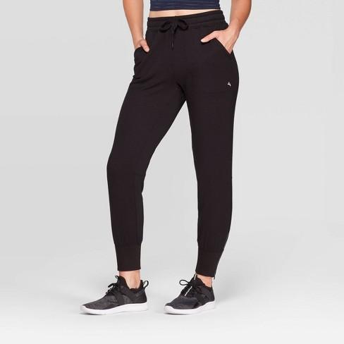 Women's Mid-Rise Cozy Jogger Pants - JoyLab™ - image 1 of 3