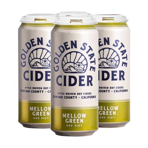 Golden State Mellow Green Hard Cider - 4pk/16 fl oz Cans - image 1 of 1