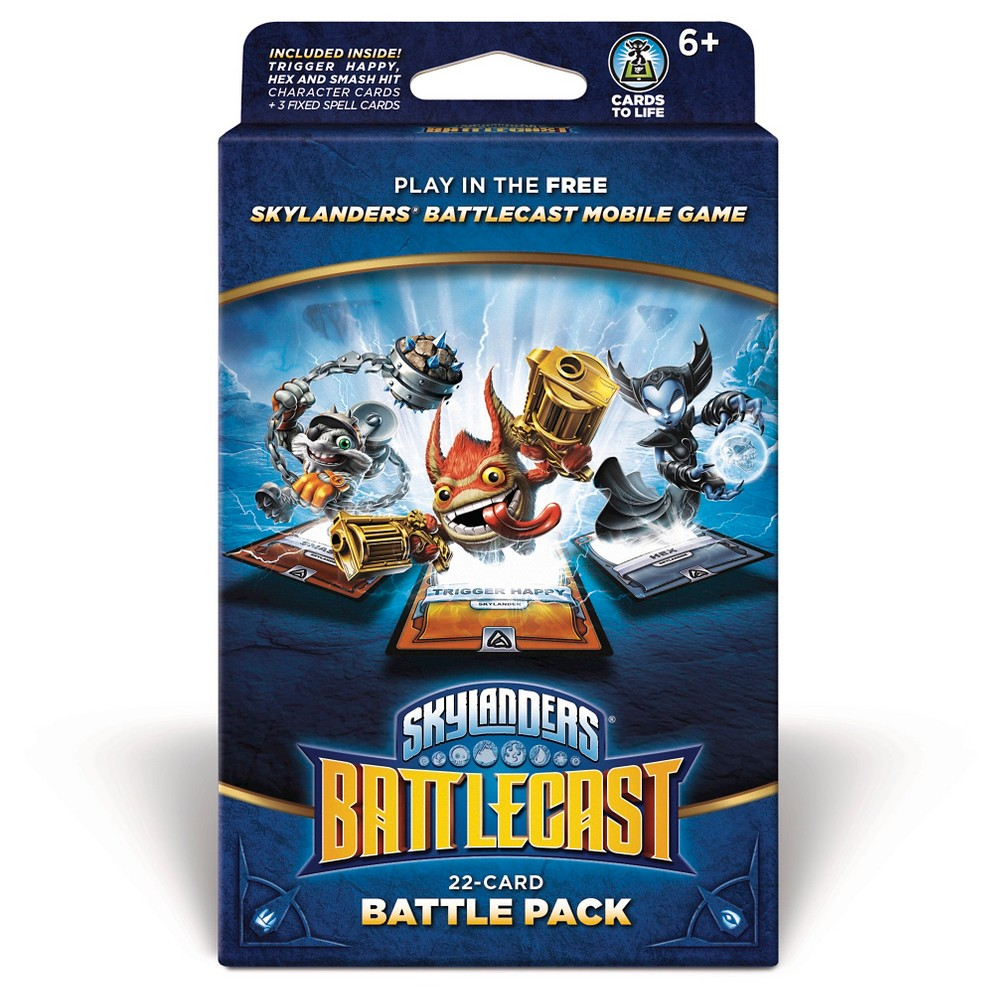 Skylanders Battlecast Battle Pack Version B with Trigger Happy, Multi-Colored