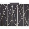 "12-Pack Geometric Decorative File Folder, Champagne Gold Foil Print, Letter Size, 1/3 Cut Tabs, 9.5"" x 11.5"" - image 4 of 4"