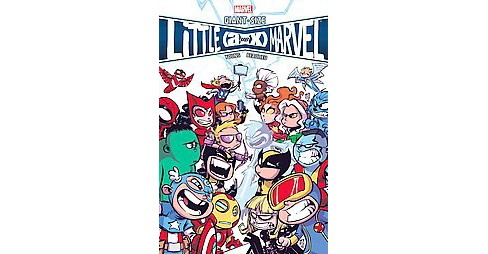 Giant-Size Little Marvel : AVX (Hardcover) (Skottie Young) - image 1 of 1