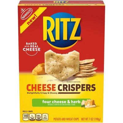 Ritz Cheese Crispers Four Cheese - 7oz