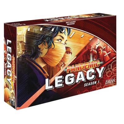 Pandemic Legacy Red Season 1 Cooperative Game